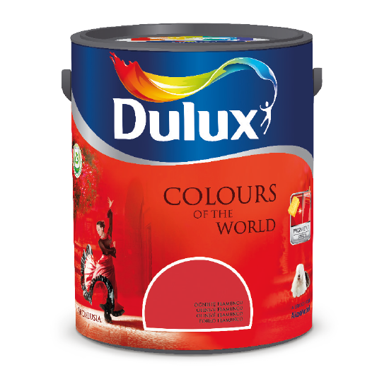 Barva Dulux Colours of the World
