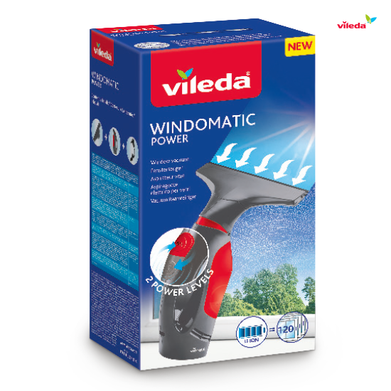 Čistilec oken Windomatic Power  + Actifibre