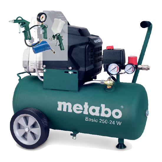 Kompresor Metabo Basic '250-24 W'
