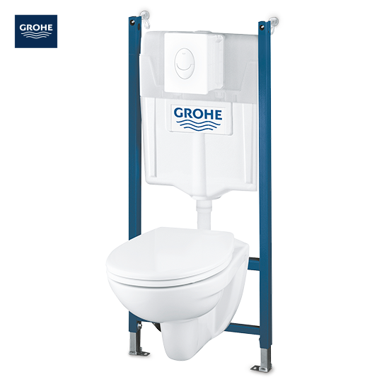 WC-komplet 4 v 1 Grohe 'Solido Compact'