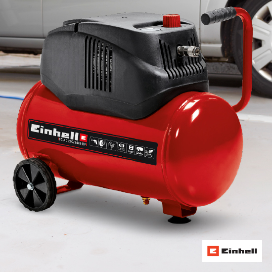 Kompresor Einhell 'TC-AC 200/24/8 OF'