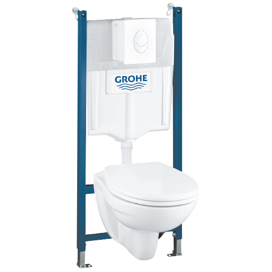 WC-komplet 4 v 1 Solido Grohe